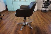 Friseursalon Einrichtung Stuhl Waschbecken Spiegel