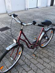 verkaufe Damen Fahrrad 26 Soll
