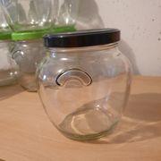 Dose aus Glass