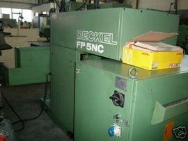 Bild 4 - CNC Fräsmaschine Deckel FP 5 - Gottmadingen Bietingen Gzg
