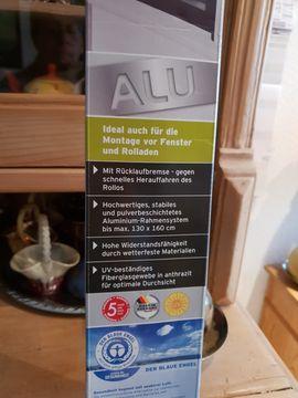 Alu Insektenschutzrollo: Kleinanzeigen aus Waghäusel - Rubrik Fenster, Rolläden, Markisen