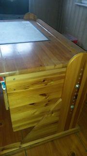 Kinder- Jugendzimmer massiv Holz Fichte -