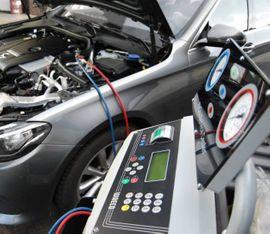 Dienstleistungen, Service gewerblich - Klimaservice Wartung Klimaanlagen befüllung R134a