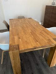 Esstisch Massivholz modern