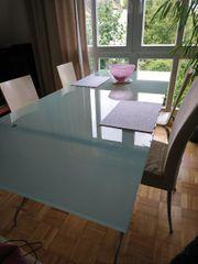 Hochwertiger Ligne Roset Tisch Glastisch