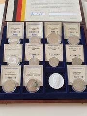 12 Göde Münzen vom bayerischen