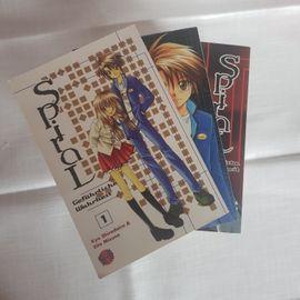 Comics, Science fiction, Fantasy, Abenteuer, Krimis, Western - Spiral Gefährliche Wahrheit Manga Band