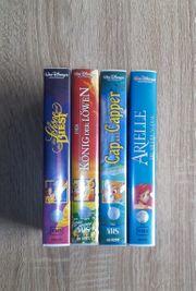 VHS Kassetten von Walt Disney
