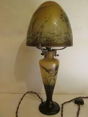 Emile Galle Art Nouveau Lampe