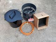 Bitumenkocherset Terrkocher 11 kW mit