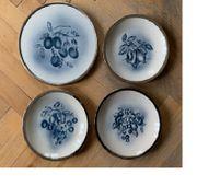 WAndteller Keramik mit Metalleinfassung Obstmotive