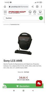 Sony- Fototasche NEU