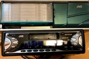 JVC Autoradio inkl CD-Wechsler