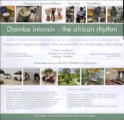 Djembe intensiv Workshop get the
