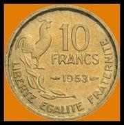 Münzen 10 Francs
