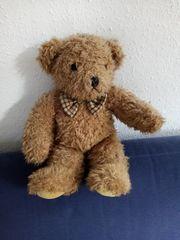 SunKid hellbrauner plüschiger Teddybär mit