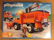 Playmobil Straßenmeister-Fahrzeug 4046