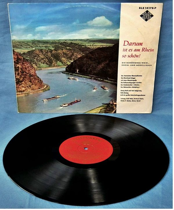 Vinyl LP 12 Zoll Darum