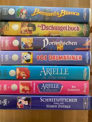 Disney Klassiker Videos im Paket -