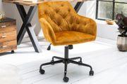 NEU Bürostuhl Dutch Comfort senfgelb