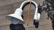 seltene große Außenlampe Strahler in