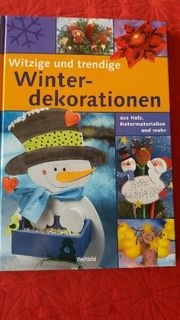 Winterdekorationen Buch
