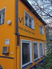 Kleines Künstlerhaus für kreatives Gewerbe
