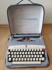 Brother De Luxe Schreibmaschine mit
