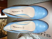 Pumps Tamaris blau Pleau NEU
