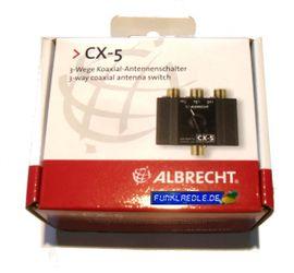 CB, Amateurfunk - Albrecht CX-5 3-Wege Antennenschalter CB-Funk