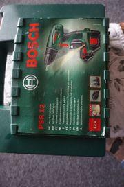 Bosch Akku Bohrschrauber PSR 12