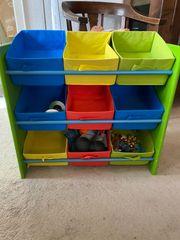 Aufbewahrung Regal Kinderzimmer