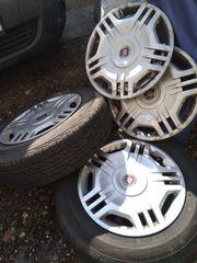 2 Reifen auf 4-Loch-Felgen mit
