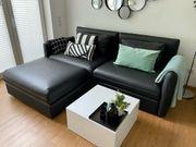 Vallentuna - Sofa in Schwarz