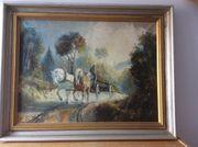 Gemälde signiert WEGENER Gemälde WEGENER