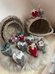 Weihnachten Adventskalender Advent Nikolaus- Lavendelmäuse