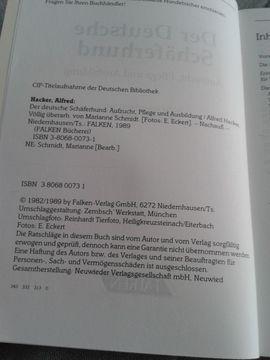 Fach- und Sachliteratur - Buch Der Deutsche Schäferhund