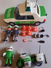 Playmobil Polizei grün Auto und
