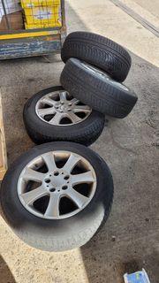 Alufelgen Winter Reifen für Mercedes
