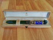 Fabergé Brieföffner mit Zarenkrone und