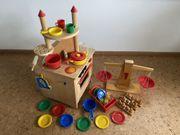 Spielzeugküche Balkenwaage