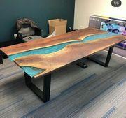 Bürotisch Schreibtisch Esstisch Holztisch Loft-Stil