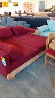 Sofa L-Form mit Hocker 175x235 -