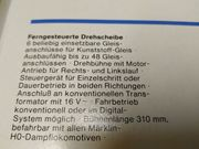 Märklin Drehscheibe 7286
