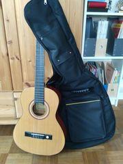 3 4 Gitarre mit Tasche