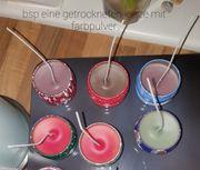 selbstgemachte Duft- Kerzen nach deine
