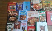 Kochbücher 15 Stück
