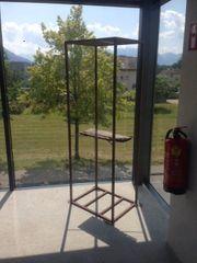Dekogestehl aus Stahl für Garten