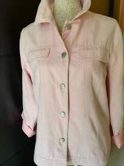 Jacke im Jeansjackenstil rosa Gr