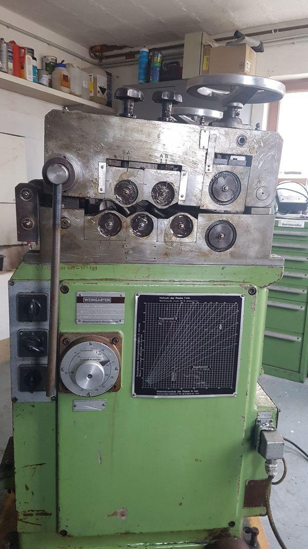 Bandrichtmaschine Weingarten RA 32